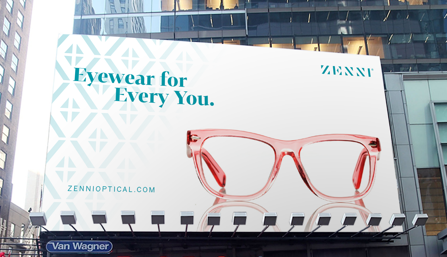 8e49d3defd The design of the Zenni wordmark and logo reflected this switch to a richer  brand experience. The look is fashion-driven and reinforces a strong sense  of ...